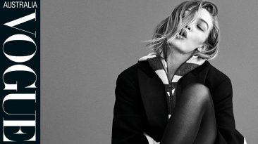 Vogue Australia Cover Shoot