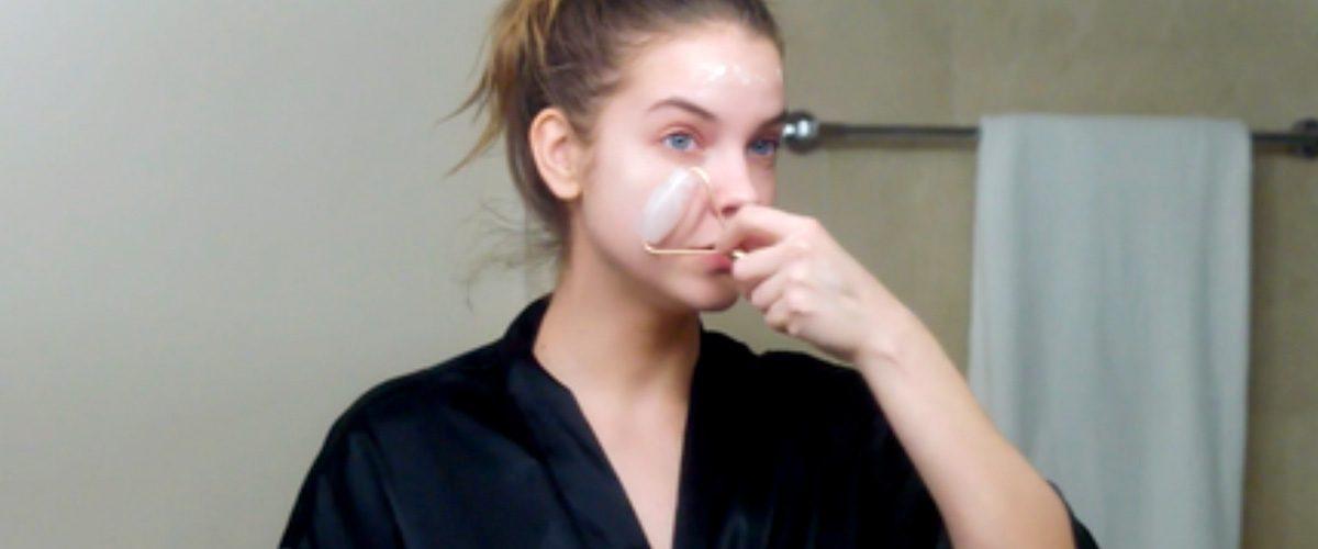 Barbara Palvin Shares Her Nighttime Skincare Routine