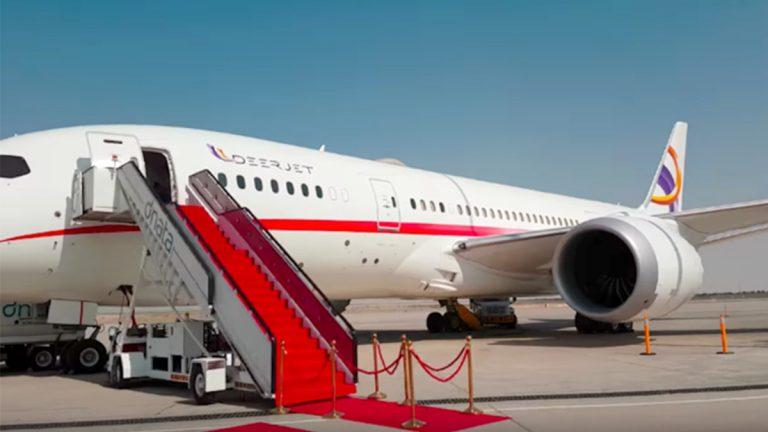 Private Boeing 787 Dreamliner