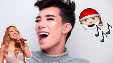 James Charles Sings Christmas Songs