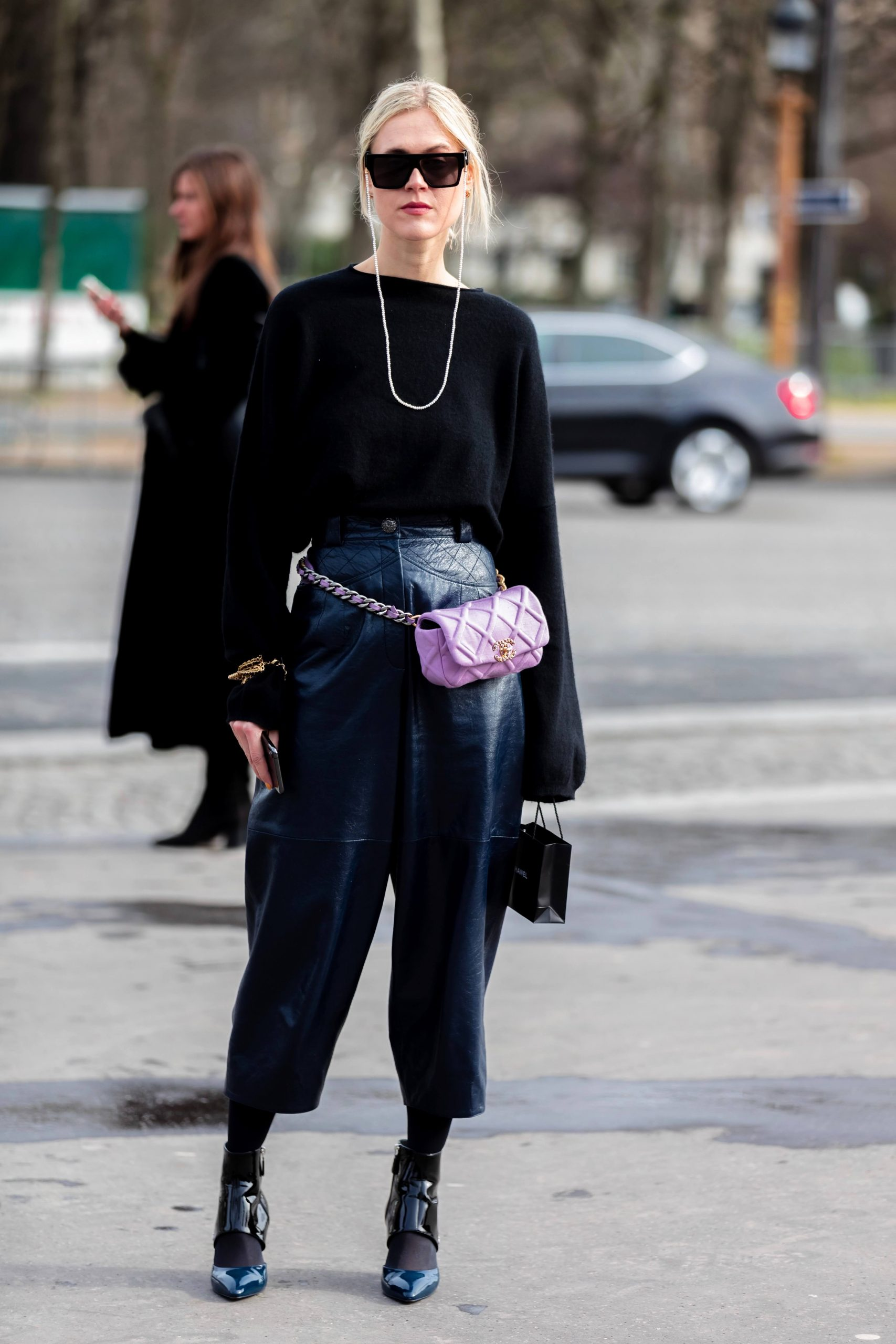 Street Style Looks from Chanel