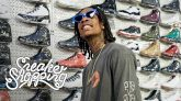 Wiz Khalifa Goes Sneaker Shopping
