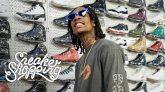 Wiz Khalifa Goes Sneaker Shopping