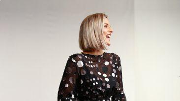 Sami Stretton Wears Annah Stretton Dress