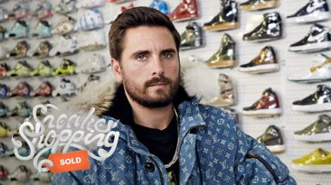 Scott Disick Goes Sneaker Shopping