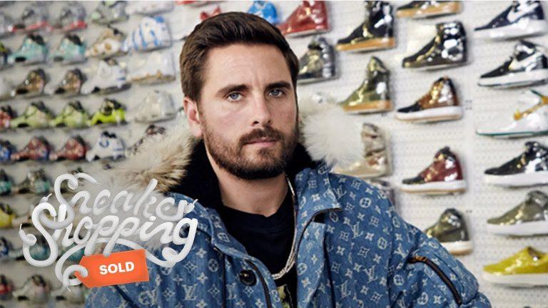 Scott Disick Goes Sneaker Shopping