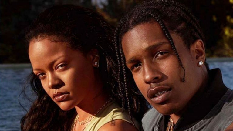 Rihanna Answers 15 Questions From A$AP Rocky