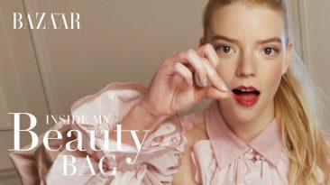 Anya Taylor-Joy Inside My Beauty Bag