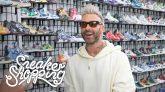 Adam Levine Goes Sneaker Shopping